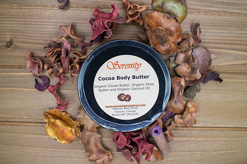 Serenity Organic Cocoa Body Butter 235 ml