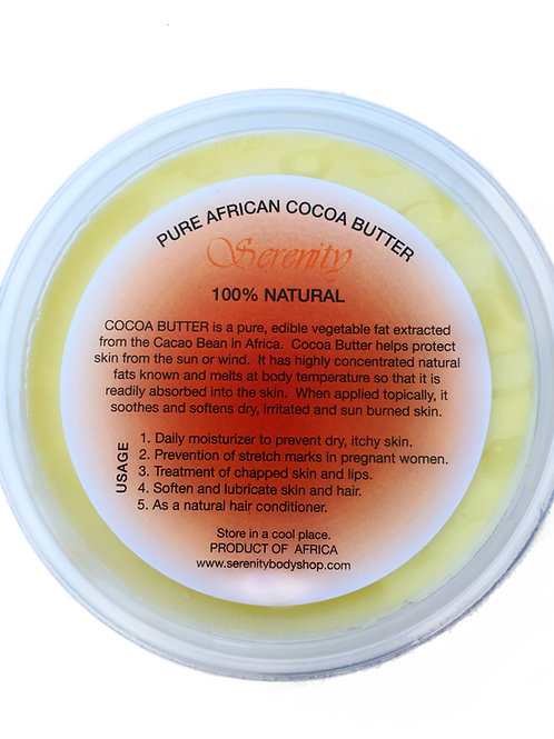 Pure Cocoa Butter 8 oz