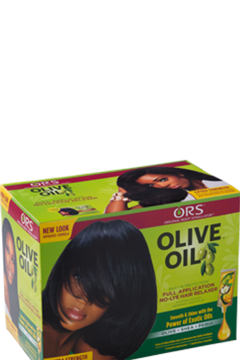 Full Application No-Lye Relaxer Kit - Extra Strength, 12.85 oz.