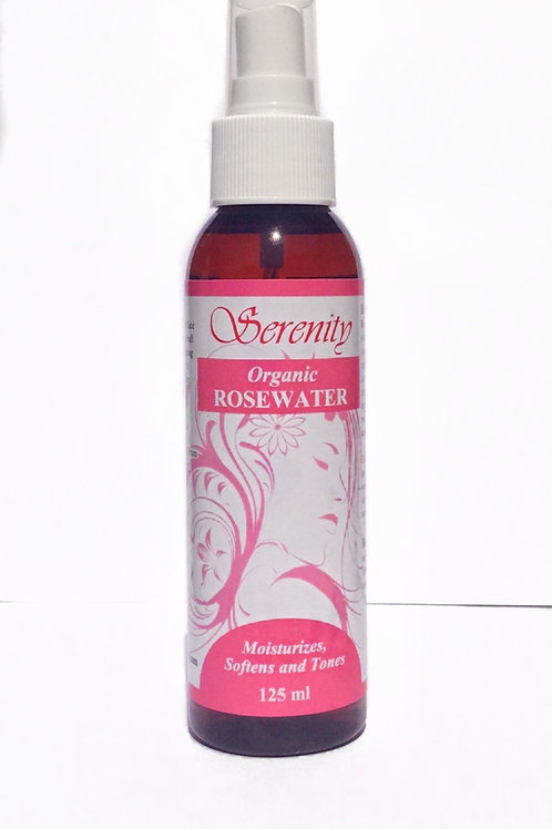 Serenity Organic Rosewater 4 oz