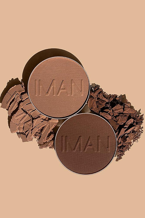 IMAN Pressed Powder 0.35 oz (10g)