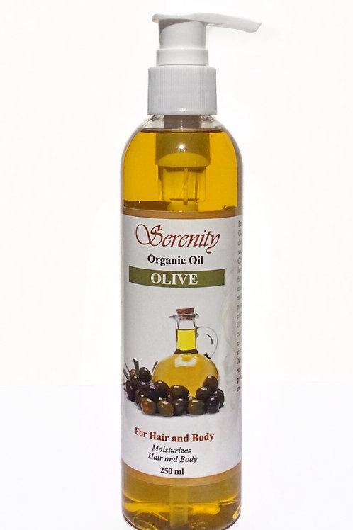 Serenity Organic Olive Oil 8 oz