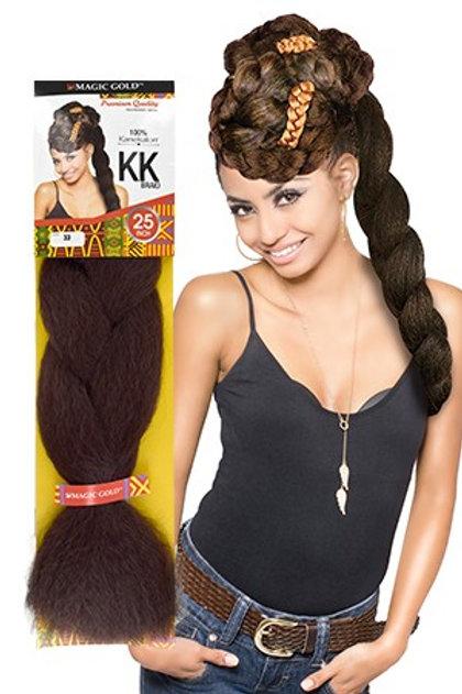 Magic Gold Kanekalon Braid Hair