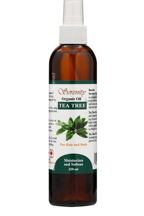 Serenity Organic Tea Tree Oil 8 oz