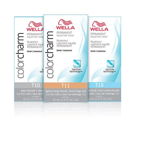 Wella – Color Charm – Permanent Liquid Toners 42ml