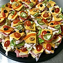 LARGE OPEN FACED SANDWICHES