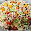 LARGE TORTILLA WRAPS PLATTER