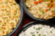 Macaroni salad, pasta salad and potato s