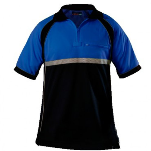 ElbecoTactical Polo Blue - Last Name on Rt
