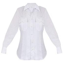 Ladies Elbeco Long Sleeve White Shirt