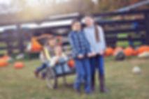 Family Photo at Dollinger Family Farm
