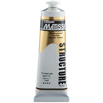 Matisse Structure Titanium White - 75ml