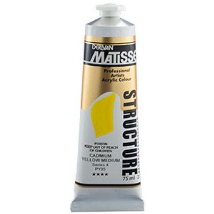 Matisse Structure Cadmium Yellow Med - 150ml