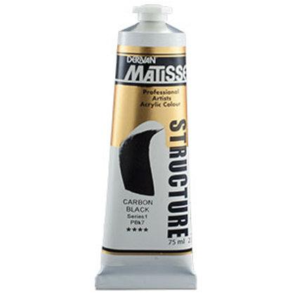 Matisse Structure Carbon Black  - 75ml