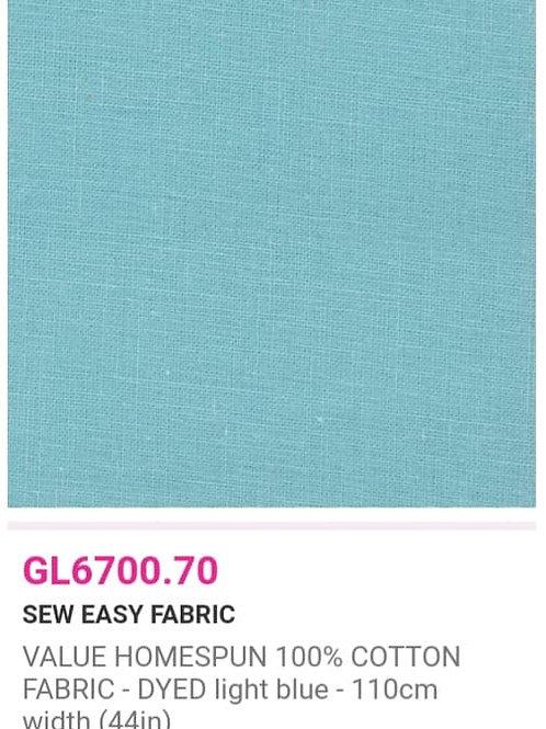 GL6700.70 VALUE Homespun -Light Blue