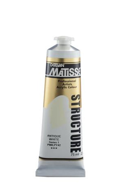MATISSE STRUCTURE PAINT 75ML - Antique White