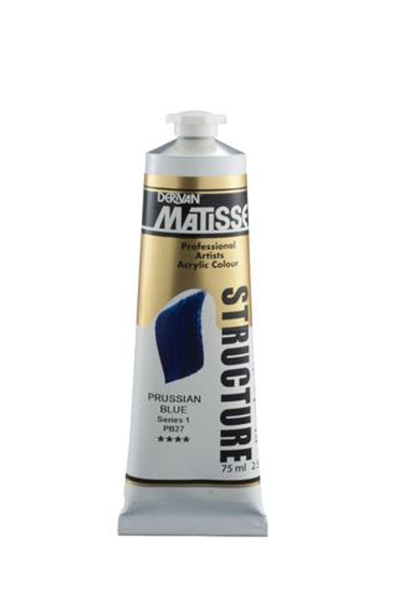 MATISSE STRUCTURE PAINT 75ML - Prussian Blue