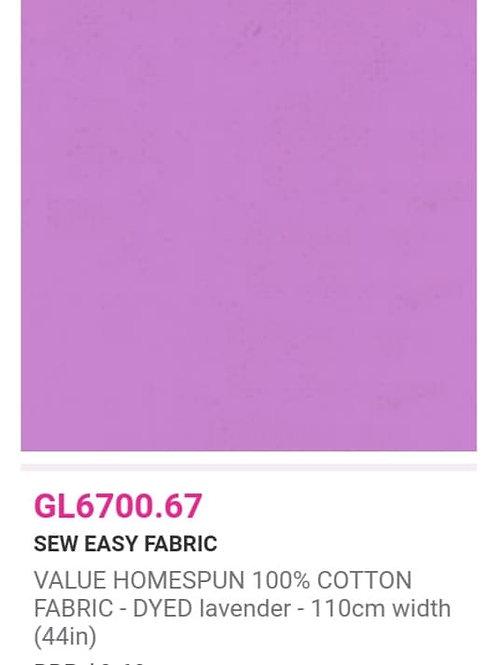 GL6700.67 VALUE Homespun -Lavender
