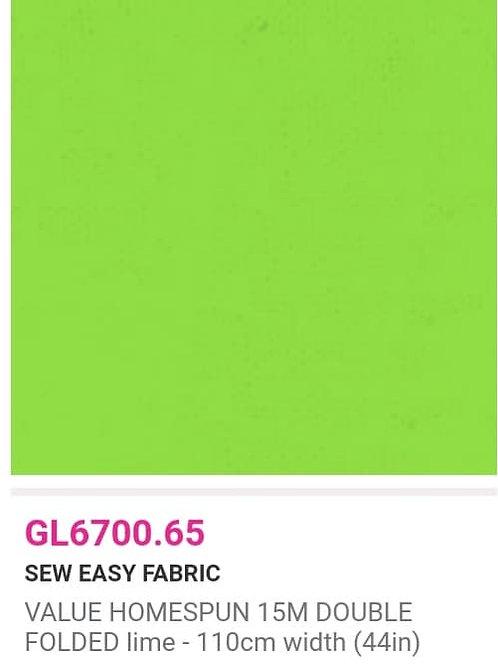 GL6700.65 VALUE Homespun -Lime