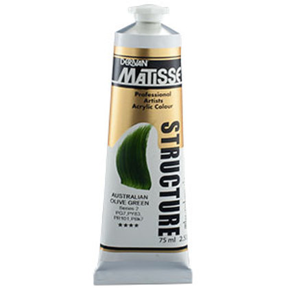 Matisse Structure Australian Olive Green  - 75ml