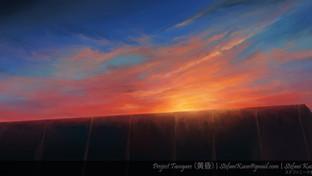 Tasogare - Sunset - BG Painting - Skuon