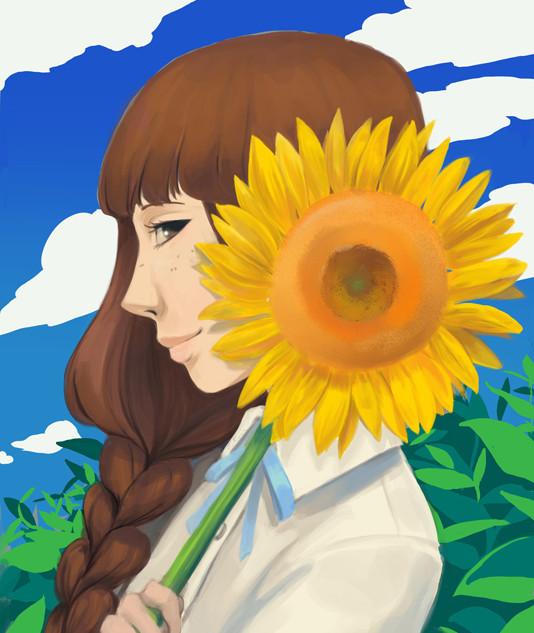Homura Sunflower Prelim - S Kuon.jpg