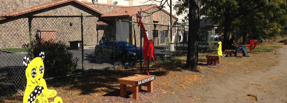 Elmhurst Sculpture Garden