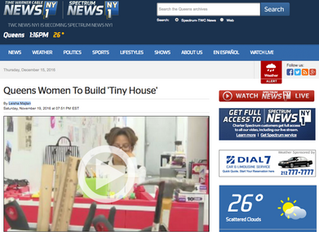 Women Who Build -Artists Who Own featured on NY1