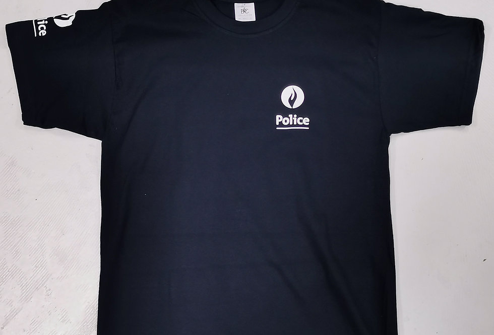 T-shirt MC 3 poses POLICE