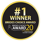 Brides Choice Awards 2020 Event Hire Winner