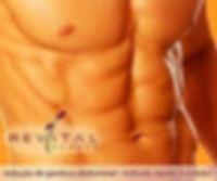 redução de gordura abdominal