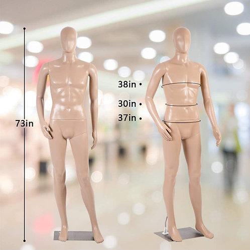 Mannequin Manikin Dress Form Adjustable 73 Inch Mannequin Display Stand Dress Mo