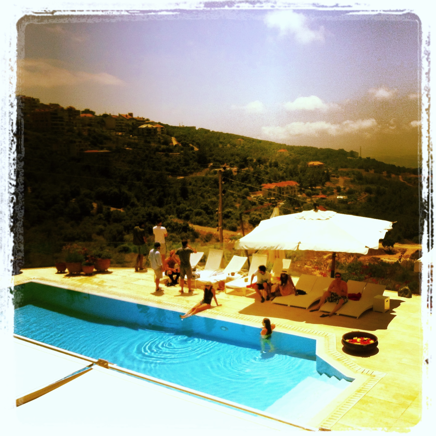 Pool Time, Lebanon