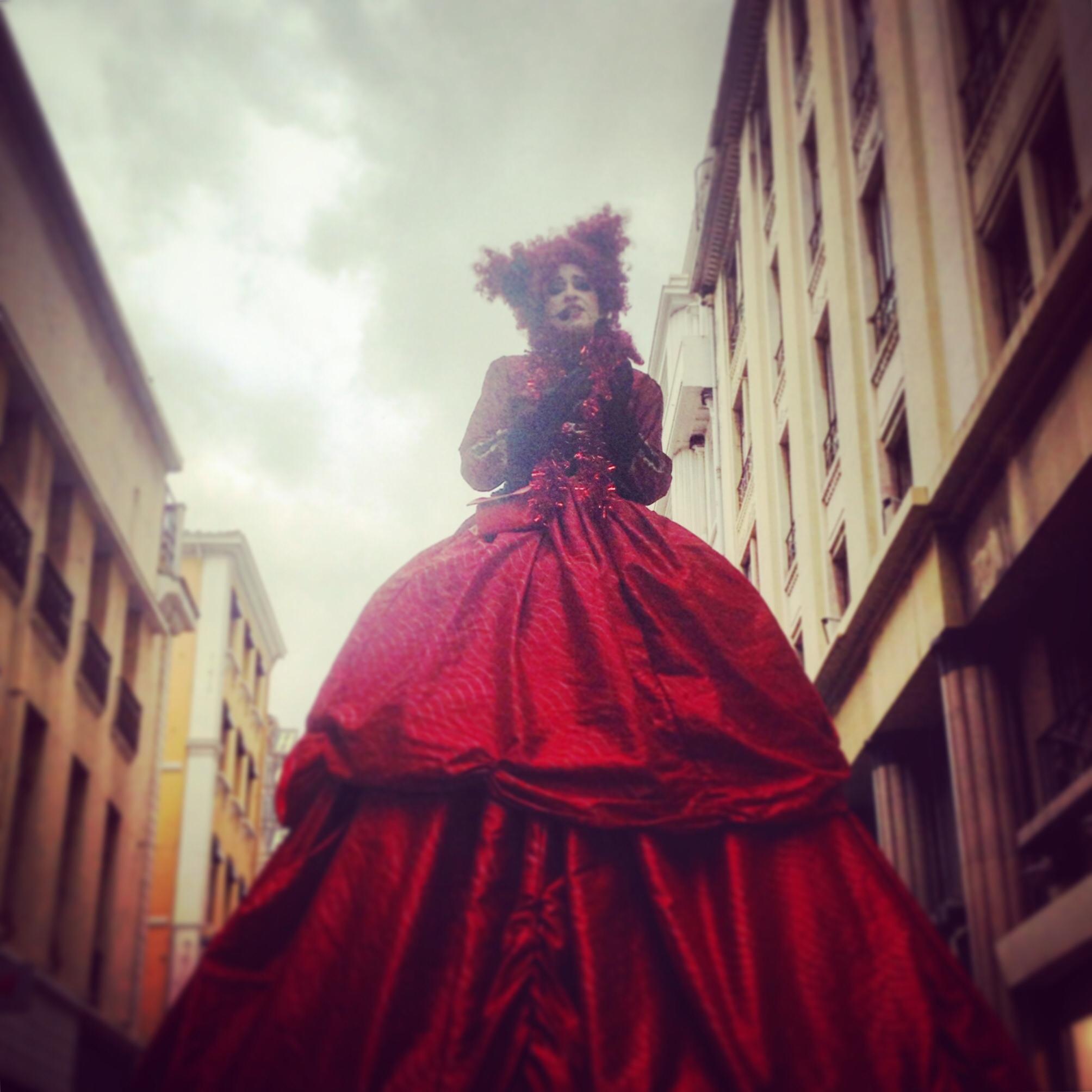 Street Performance Xmas Marseille