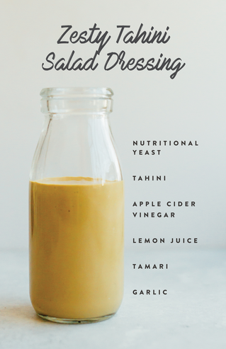 Zesty Tahini Salad Dressing