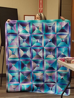 Comfort Quilt by Cathy Loughlin