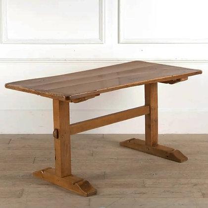 Early C19th Fruitwood Farmhouse Table