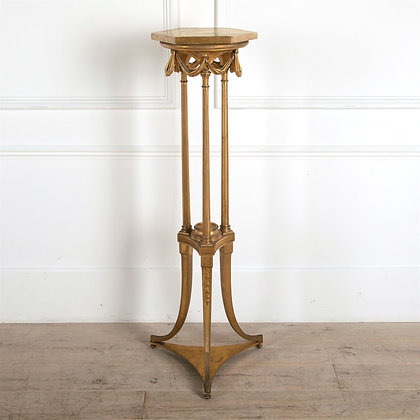 19th Century Giltwood Torchere