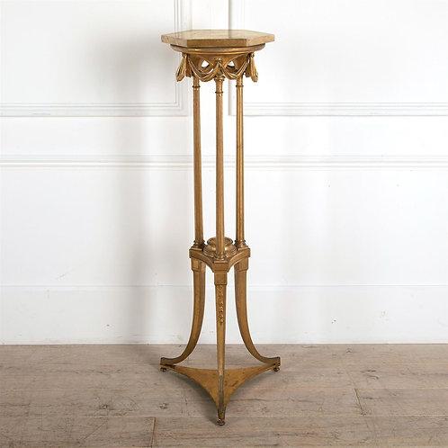 19th Century Giltwood Torchere