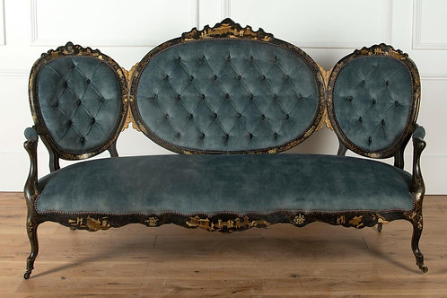 19th Century French Chinoiserie Sofa