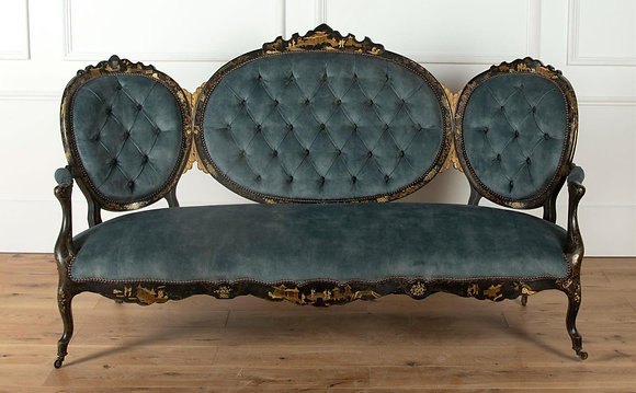 19th Century French Chinoiserie Sofa