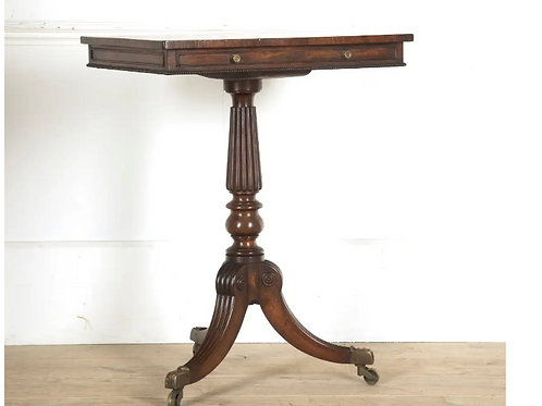 Regency Mahogany Freestanding Gillows Occasional table