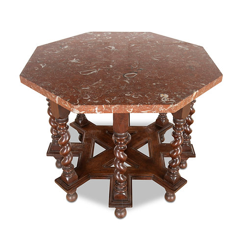 C19th Century Centre Table with Marble Top