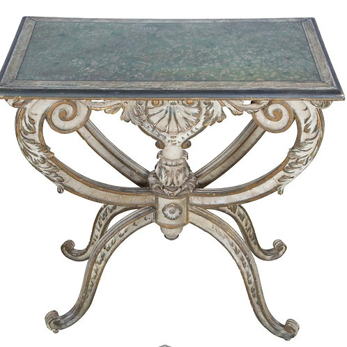 C19th Italian decorated occasional table