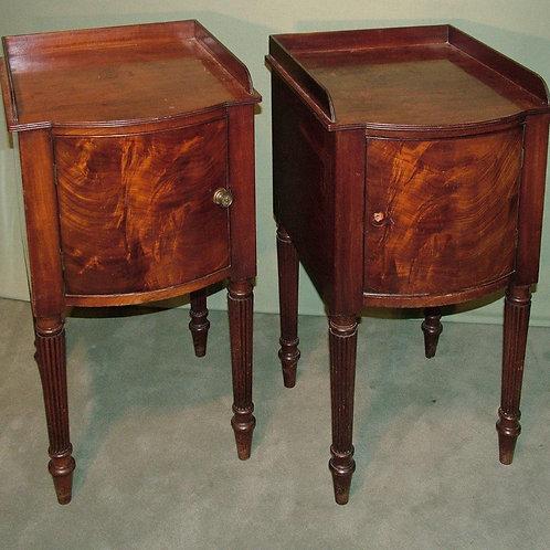 Regency pair of Gillow bedside cupboards