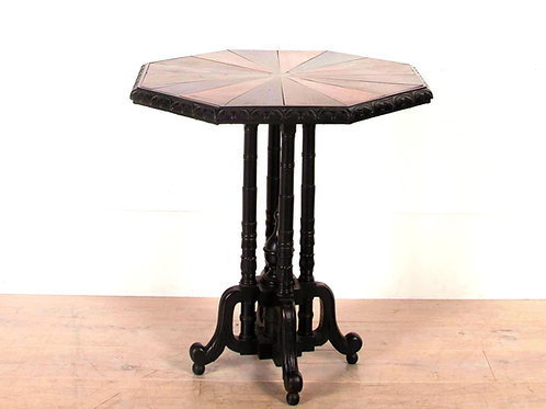 C19th Anglo Indian Specimen Wood Occasional Table