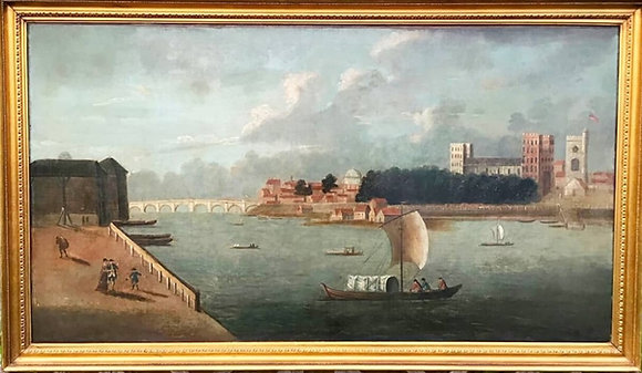 C18th/C19th Oil On Canvas
