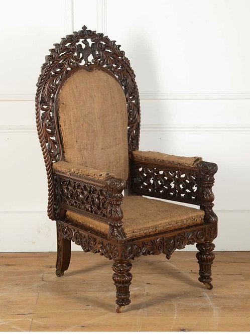 Early C19th Anglo Indian Armchair