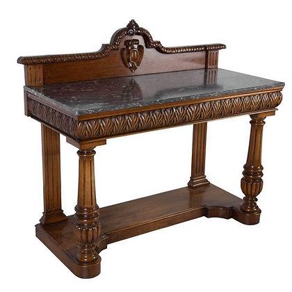 Geo IV Mahogany Althorp Hall Console Table
