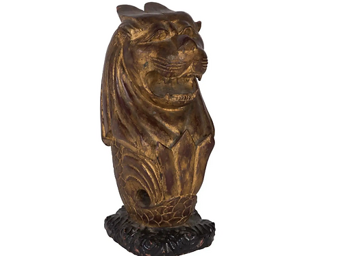C19th Continental Carving of a Mythical Animal